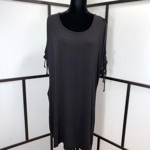 Addition Elle Fun Dress w Peekaboo Shoulders